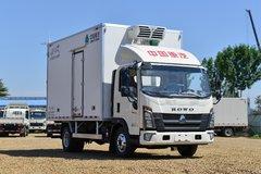 中国重汽HOWO 统帅 160马力 4X2 4.1米冷藏车(国六)(绿叶冷藏)(ZZ5047XLCH3315F145)