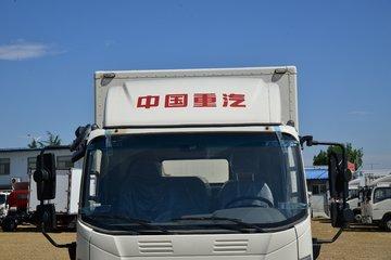 中国重汽HOWO 统帅 130马力 4.15米单排厢式轻卡(速比4.333)(ZZ5047XXYH3315F145H)图片