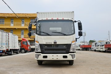 中国重汽HOWO 悍将 130马力 4.15米单排厢式轻卡(ZZ5047XXYH3315F145H)