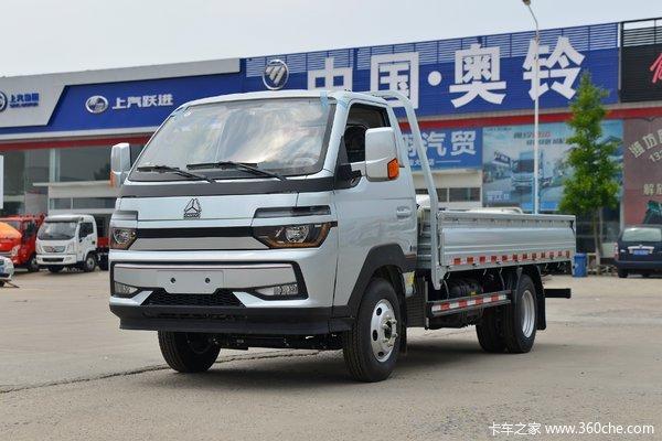 中国重汽HOWO 智相 130马力 4X2 3.95米单排栏板小卡