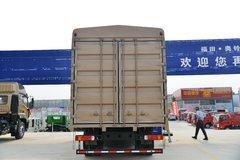 福田 奥铃大黄蜂 皇宫版 245马力 6.8米排半仓栅式载货车(国六)(BJ5186CCYLPFK-AD1)
