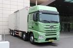 一汽解放 J7重卡 560马力 8X4 9.4米AMT自动挡厢式载货车(国六)(CA5310XXYP77K24T4E6)图片