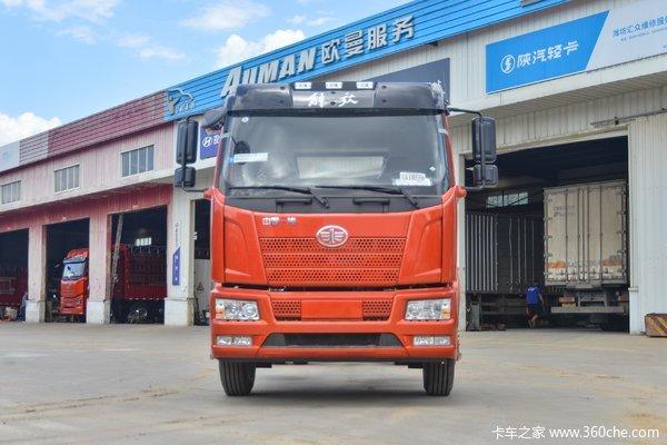 一汽解放 J6L中卡 创富版 180马力 4X2 6.8米厢式载货车(国六)