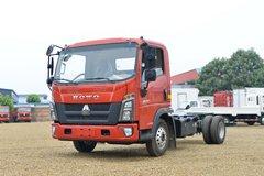 中国重汽HOWO 统帅 130马力 4.15米单排栏板轻卡(国六)(宽体)(ZZ1047F3315F144) 卡车图片
