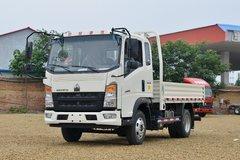 中国重汽HOWO 统帅 小金牛plus 130马力 3.85米排半栏板轻卡(国六)(ZZ1047F3215F145) 卡车图片
