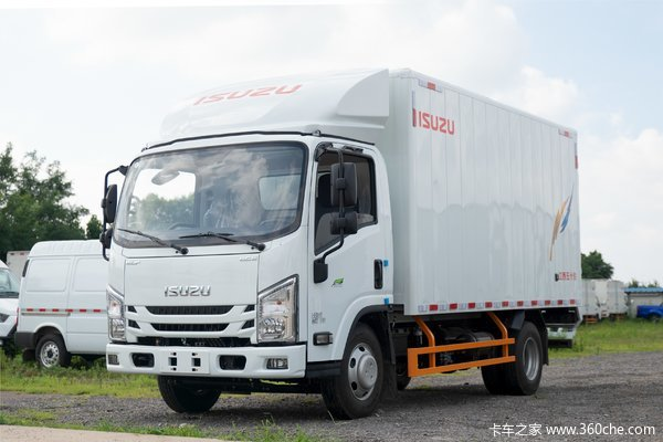 江西五十铃 翼放EC5 标准版 116马力 4.2米单排厢式轻卡(国六)