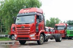 一汽解放 J6L中卡 精英版 绿通  260马力 4X2 6.75米栏板载货车(国六)(CA1180P62K1L4E6) 卡车图片