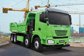 南京金龙 开沃新能源 8X4 5.6米纯电动自卸车