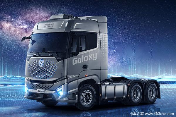 福田 欧曼银河 580马力 6X4 AMT自动挡牵引车(国六)