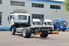 江淮 骏铃V8 170马力 4X2 5.48米排半厢式载货车(国六)(HFC5118XXYP61K1D7S) 卡车图片