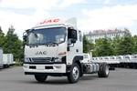 江淮 骏铃V8 170马力 4X2 5.48米排半厢式载货车(国六)(HFC5118XXYP61K1D7S)