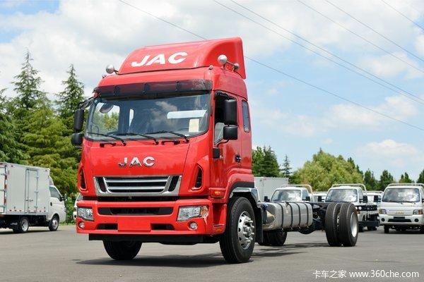 江淮 德沃斯V9 220马力 4X2 9.6米厢式载货车(国六)