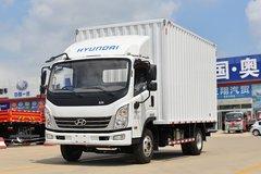 现代商用车 泓图500 143马力 4.165米单排厢式轻卡(CHM5044XXYQDA33V)