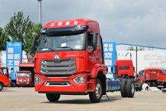 中国重汽 豪沃N5W中卡 220马力 4X2 6.75米仓栅式载货车(国六)(ZZ5187CCYK511JF1B)图片