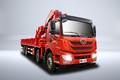 青岛解放 悍V 2.0版 290马力 6X4 8米随车起重运输车(国六)(CA5250JSQP1K2L5T1E6A81)图片