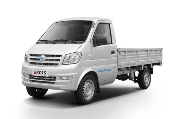 优惠0.3万杭州瑞驰EK01S电动轻卡促销