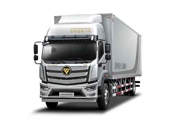 福田 欧航R系 pro 220马力 4X2 9.78米AMT自动挡厢式载货车(国六)