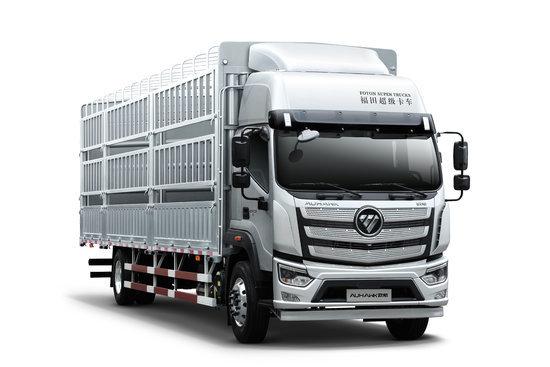 福田 欧航R系 价值版 190马力 6.8米仓栅式载货车(国六)(BJ5186CCY-1M)