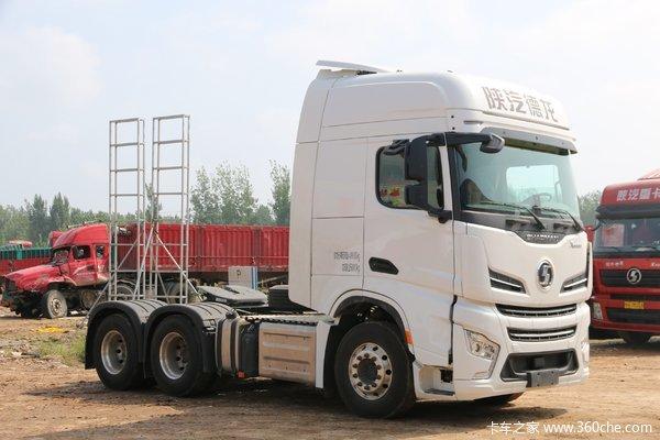 陕汽重卡 德龙X6000 560马力 6X4 AMT自动挡牵引车(SX4259GD4Q2)