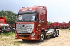 现代商用车 新一代创虎 460马力 6X4 LNG牵引车(国六)(CHM4250KPQ52NT) 卡车图片