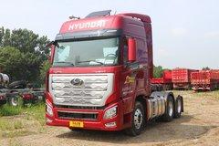 现代商用车 新一代创虎重卡 540马力 6X4 AMT自动挡牵引车(国六)(CHM4250KPQ46T) 卡车图片