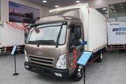 现代商用车 盛图城配版 豪华版 116马力 4.12米单排厢式轻卡(CHM5042XXYGDC33V)