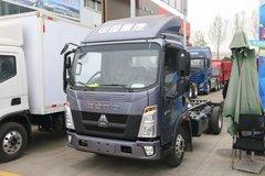 中国重汽HOWO 统帅 130马力 4.15米单排仓栅式轻卡(国六)(ZZ5047CCYF3315F144) 卡车图片