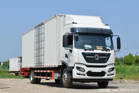 东风商用车 天锦KR 260马力 4X2 9.8米厢式载货车(带液缓)(国六)(DFH5180XXYE8)