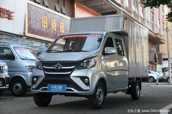 长安凯程 星卡 1.5L 长轴版 标准型 107马力 汽油 2.45米双排厢式微卡(国六)(SC5022XXYSEAD6)