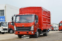 中国重汽HOWO 悍将 130马力 4.15米单排仓栅式轻卡(国六)(ZZ5047CCYC3215F145)图片