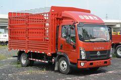 中国重汽HOWO 统帅 130马力 4.15米单排仓栅式轻卡(国六)(ZZ5047CCYG3315F143B) 卡车图片