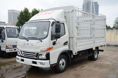 江淮 骏铃V5 130马力 4.22米单排仓栅式轻卡(国六)(HFC5045CCYP32K2C7S)