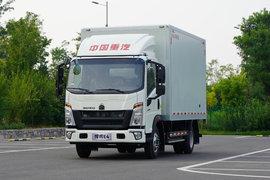 中國重汽HOWO 悍將 4.5T 4.15米單排純電動廂式輕卡81.14kWh