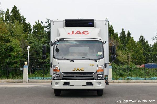 江淮 帅铃Q6 160马力 4X2 4.015米冷藏车(国六)(HFC5048XLCP71K2C7S)