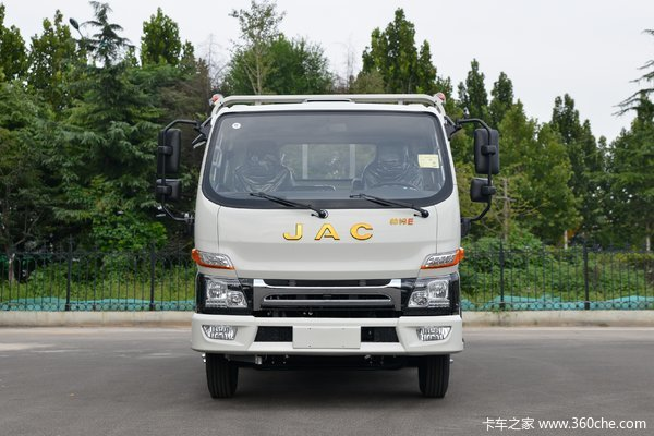 江淮 帅铃E中体 130马力 3.85米排半栏板轻卡(国六)(HFC1045P32K2C7S)