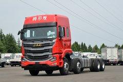 江淮 格尔发A5WⅢ重卡 旗舰版 490马力 8X4 9.5米AMT自动挡厢式载货车(国六)(HFC5311XXYP1K6H45S)