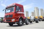 陕汽重卡 德龙L3000 270马力 6X2 6.9米栏板载货车(高顶)(国六)(SX1259LB9F1)图片