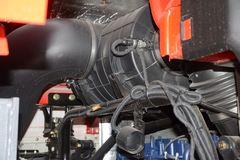 陕汽重卡 德龙X3000 550马力 8X4 8.8米自卸车(国六)(SX33195D506)
