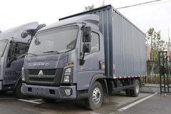 中国重汽HOWO 统帅 160马力 4.15米单排厢式轻卡(ZZ5047XXYG3115F145)图片