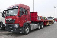 中国重汽 HOWO TX重卡 440马力 6X4 牵引车(ZZ4257V324GF1) 卡车图片
