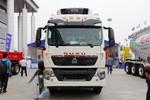 中国重汽 HOWO TX 350马力 6X2 9.52米冷藏车(国六)(ZZ5257XLCN56CGF1)图片