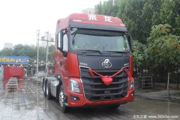新车到店 亳州市乘龙H7牵引车仅需36.8万元