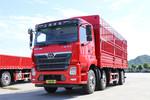 三环十通 昊龙 270马力 8X2 7.6米仓栅式载货车(国六)(中桥提升)(STQ5319CCYA6)图片
