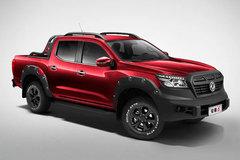 郑州日产 锐骐6 2021款 越野版 2.3T柴油 163马力 6挡手动 四驱 红色双排皮卡(国六)