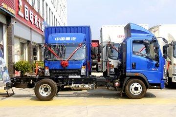 中国重汽HOWO 悍将 150马力 4.15米单排栏板轻卡(ZZ1047G3215F144)图片