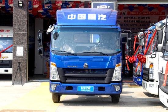 中国重汽HOWO 悍将 150马力 4.15米单排栏板轻卡(ZZ1047G3215F144)