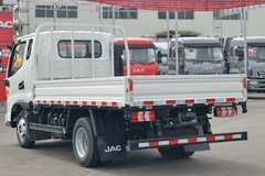 江淮 骏铃V5 132马力 3.37米排半栏板轻卡(国六)(HFC1045P32K1C7NS)