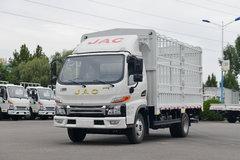 江淮 帅铃E中体 130马力 4.22米单排仓栅式轻卡(国六)(HFC5045CCYP32K2C7S) 卡车图片