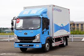 中國重汽 豪曼H3 4.185米單排廂式純電動輕卡85.4kWh