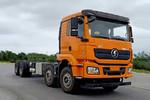 陕汽重卡 德龙新M3000 375马力 8X4 9.55米仓栅式载货车(SX5310CCYGB456)图片